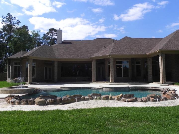 Hill Country Grandeur Built Green Custom Homes