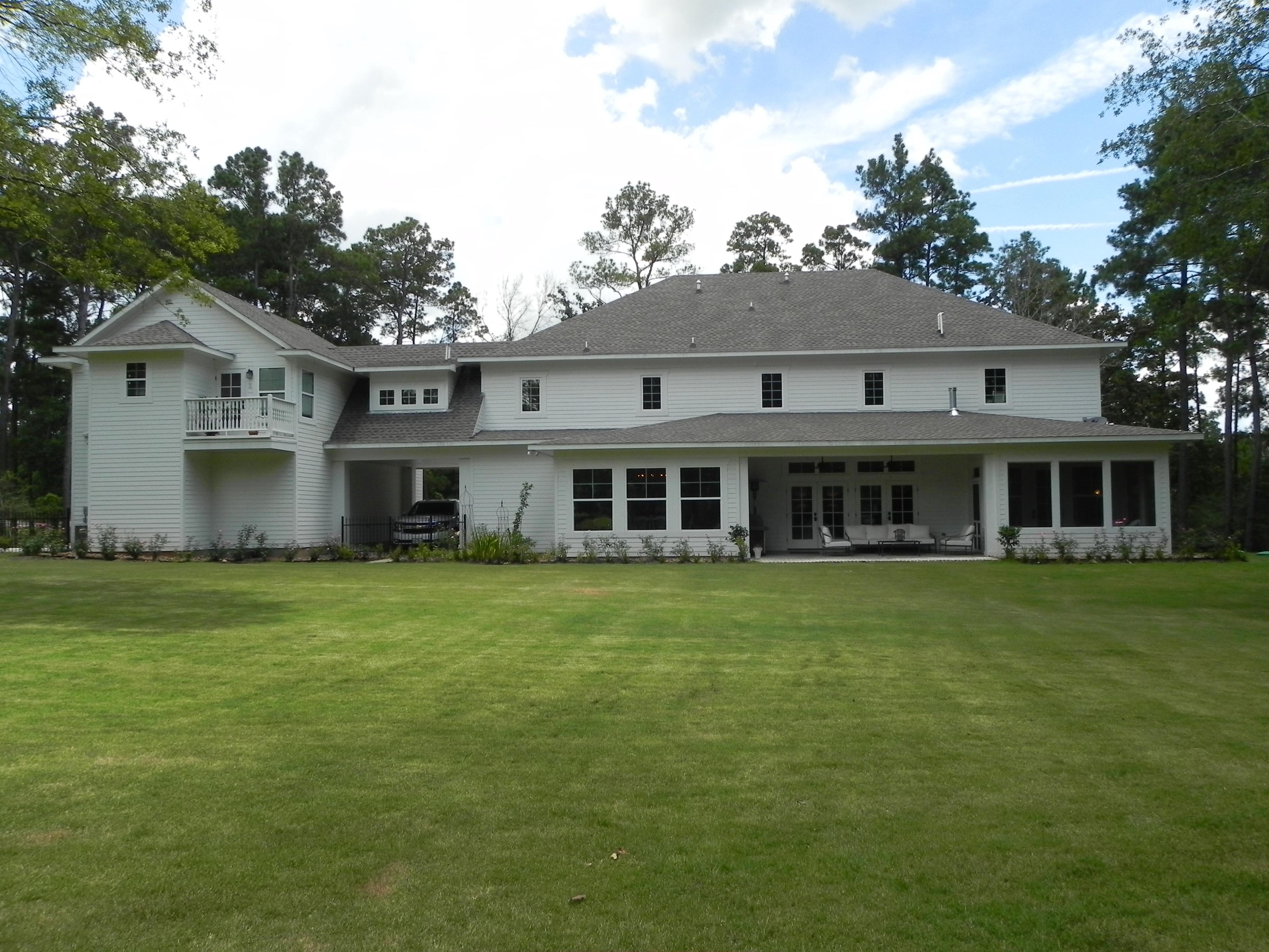 Louisiana farmhouse built green custom homes for Luxury home builders louisiana