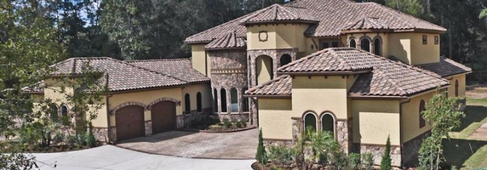 ... Mediterranean Style Home Built Green Custom Homes ...